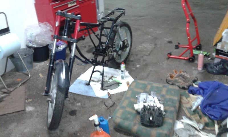 Puch Monza II - Restauración y dudas 20180611_192945