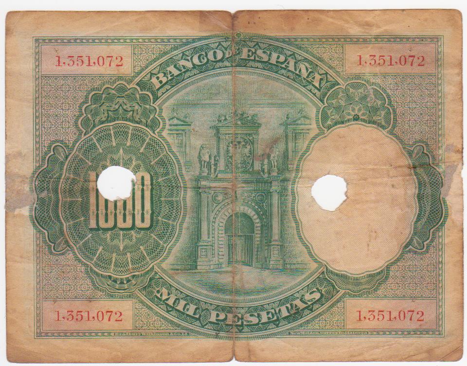 1000 Pesetas 1925 (Dos taladros y resello inutilizado) 1000_pts_1925_inutilizado_001