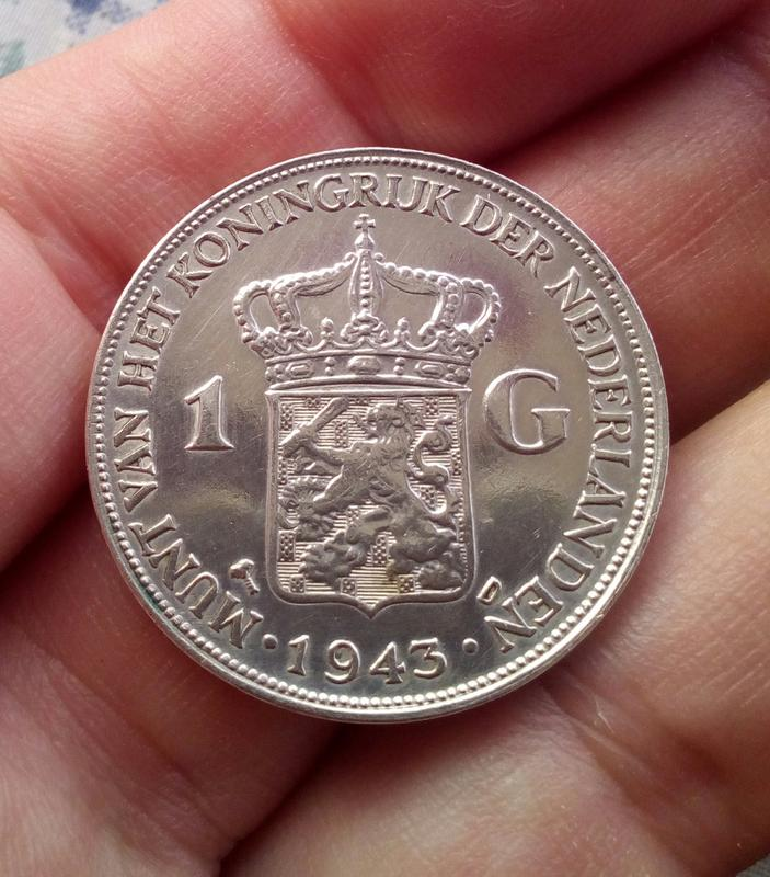 1 Gulden 1943 Wilhelmina Holanda IMG_20180803_205133_082