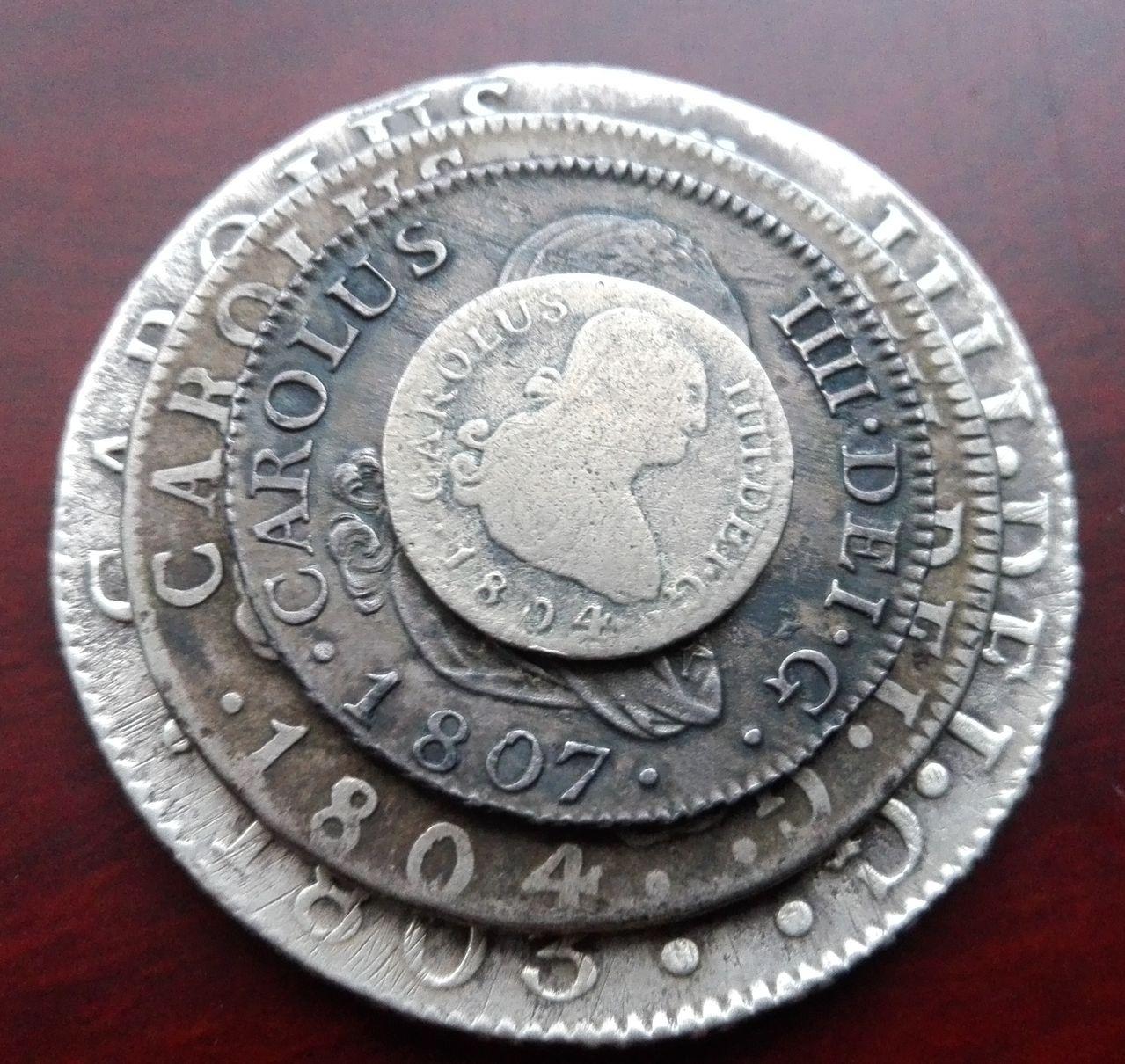 8 reales 1803 Carlos IV. Sevilla IMG_20160402_193804