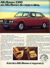 Auto Storiche in Brasile - FNM & Alfa Romeo - Pagina 2 ALFA_ROMEO_2300_1974