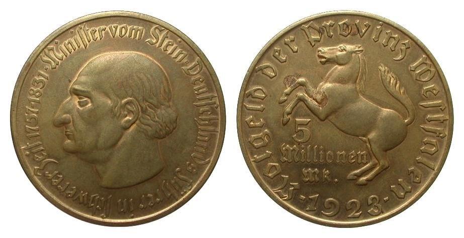 Monedas de emergencia emitidas por el banco regional de Westphalia - Página 2 H2095