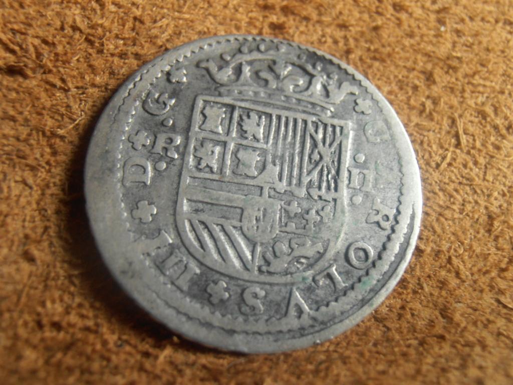 2 Reales Carlos III El Pretendiente 1708 P9120016