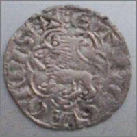 """Dinero """"novén"""" de Alfonso X. (1252-1284). Sevilla. 16mm"""