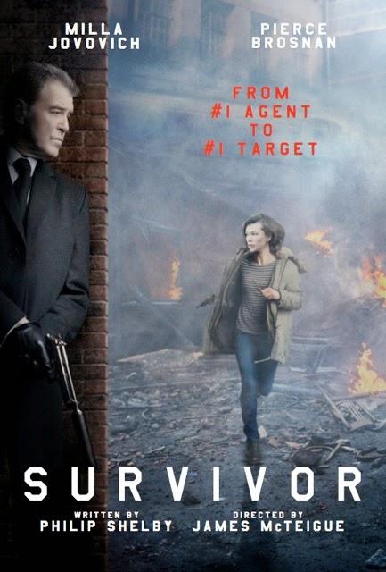 Milla Jovovich Survivivor_Teaser_Poster