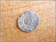 Dinero de Aragón de Juana y Carlos 1507-1516. P1260330