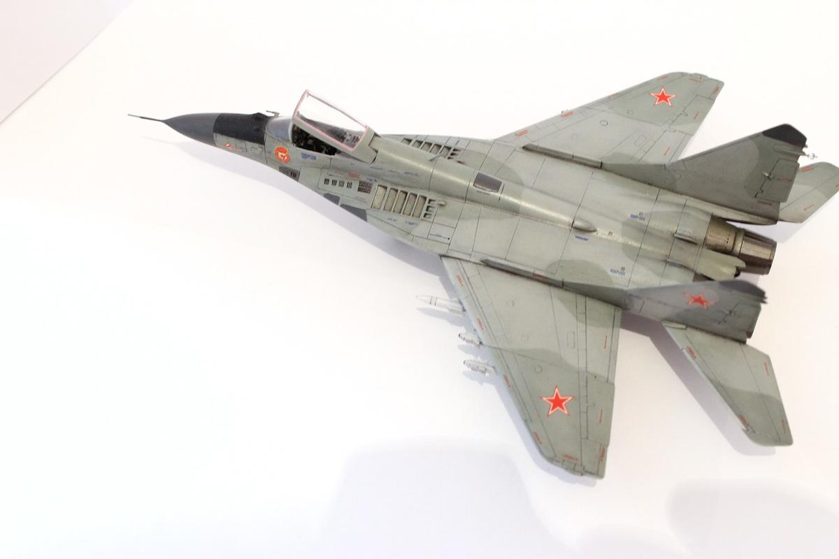 Миг-29 Звезда /italeri  1/72 Image
