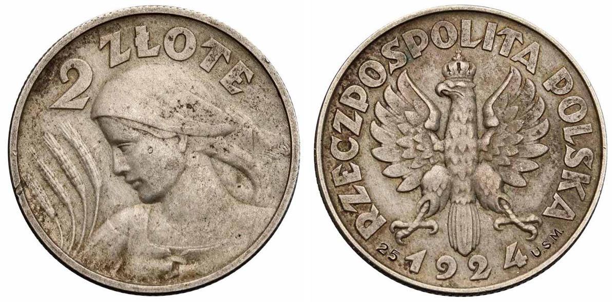Polonia 2 zlote 1924 Image00324