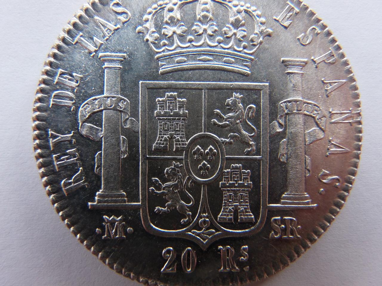 20 Reales 1823 Madrid PC031409