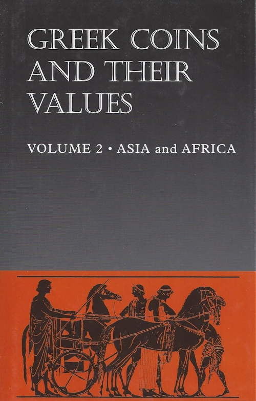 Greek Coins and Their Values, Volume II - Asia & North Africa 65547q00