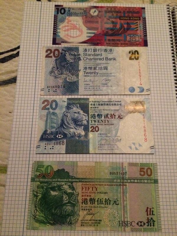 Dollars Hong Kong Hong_Kong_I_Anverso