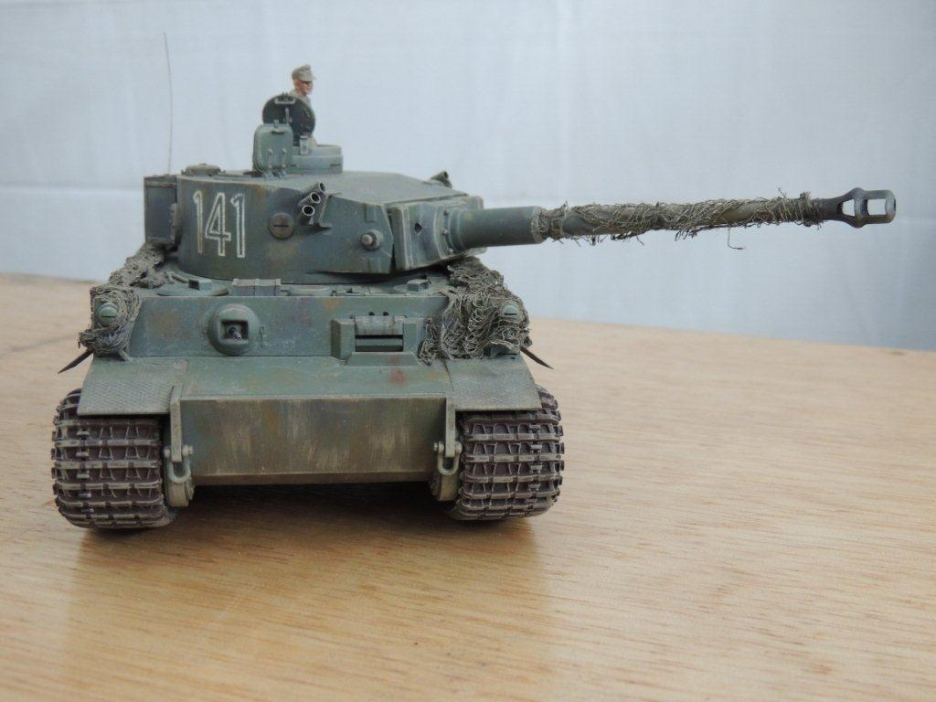 Tiger I Tamiya 1/35 early  Western Front Imagem_001_1_16
