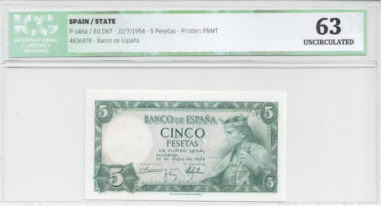 Colección de billetes españoles, sin serie o serie A de Sefcor Alfonso_x_anverso