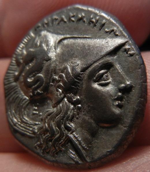 Didracma o Estátera Italiota. Heraclea (Región de Lucania). 281-278 A.C. SC. DSCN0219