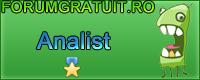 Concurs de semnaturi pentru forumgratuit.ro - Pagina 4 1analist