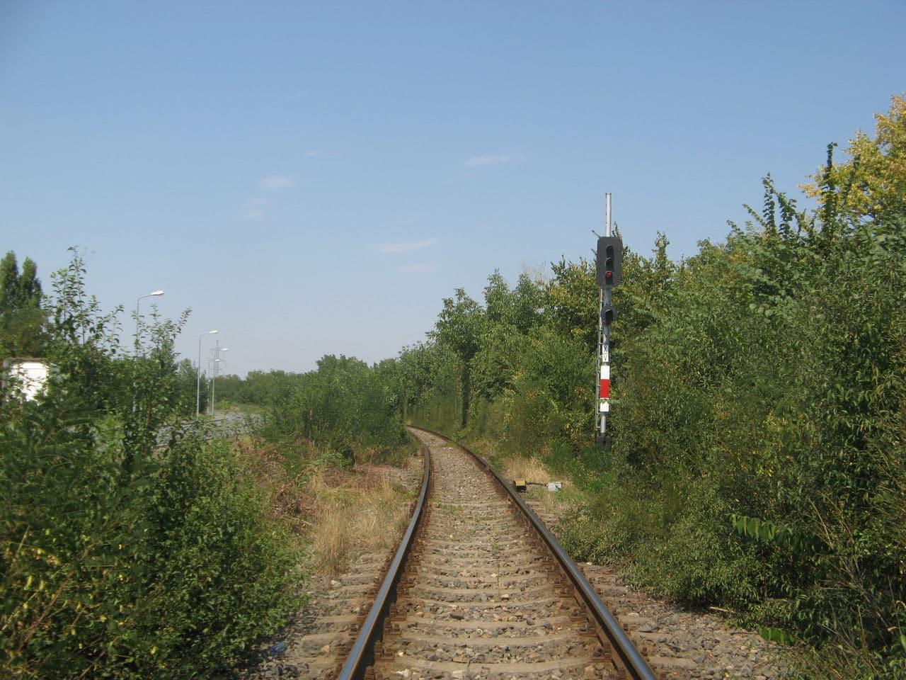 Calea ferată directă Oradea Vest - Episcopia Bihor IMG_0050