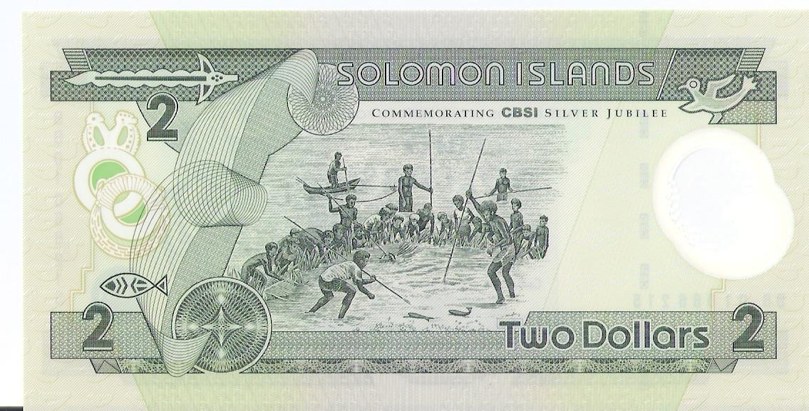 2 Dolares Islas Salomon, 2001 Escanear0017