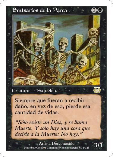 Cartas Magic Emisarios_de_la_Parca