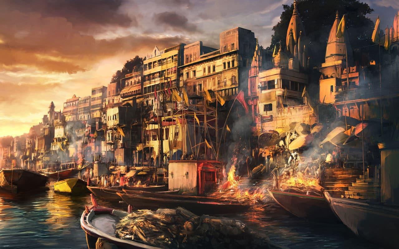 ELEMENTOS: Lanzada de dados y génesis de personajes Fantasy_city_wallpapers_hd