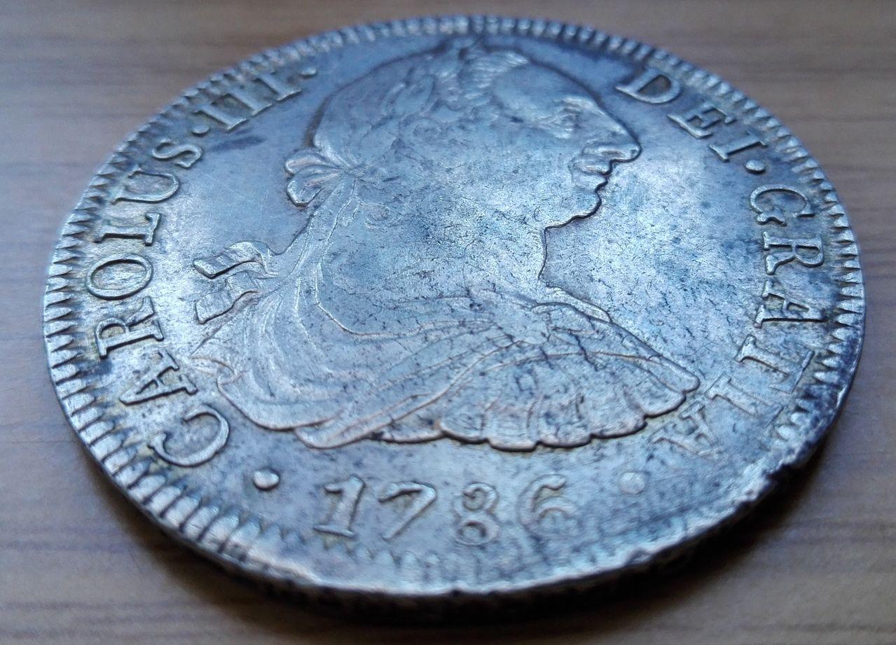 8 reales 1786, Méjico, Carlos III 8_resles_1786_2