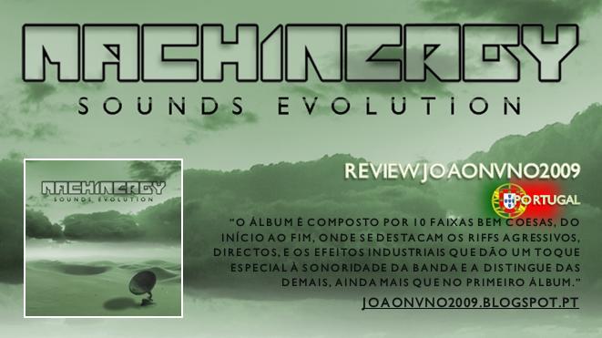 "MACHINERGY ""Sounds Evolution"" 2014 Review_JOAONVNO2009"