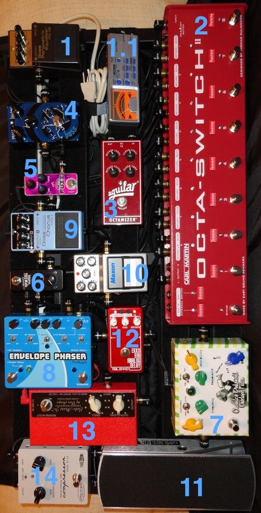 Transformando um pedal digital em bypass Predaltrain_Pro