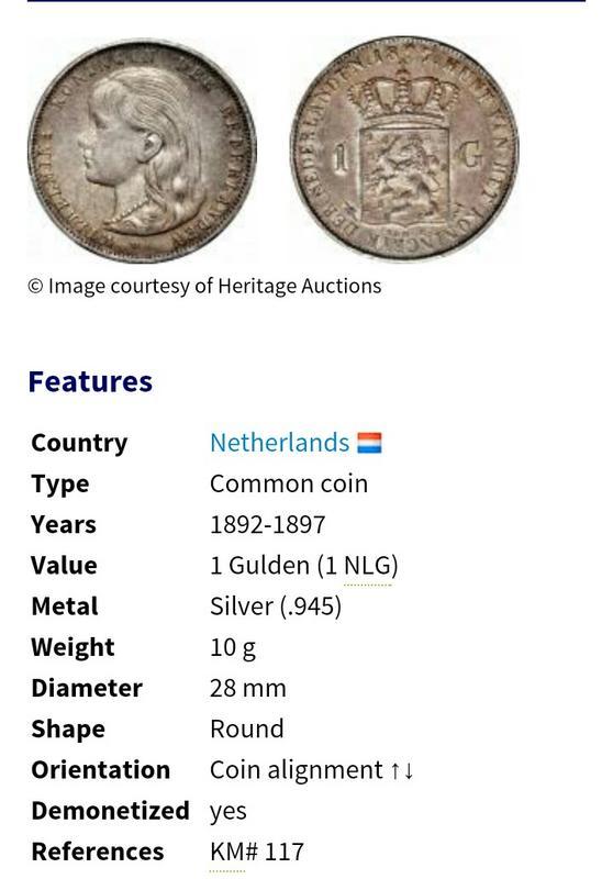 1 Gulden 1943 Wilhelmina Holanda IMG_20180804_221153_296