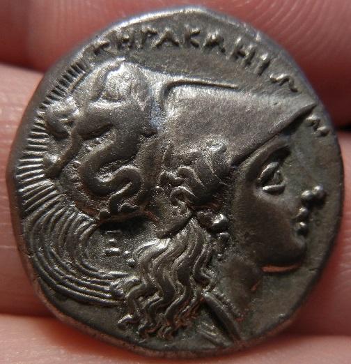 Didracma o Estátera Italiota. Heraclea (Región de Lucania). 281-278 A.C. SC. DSCN0218