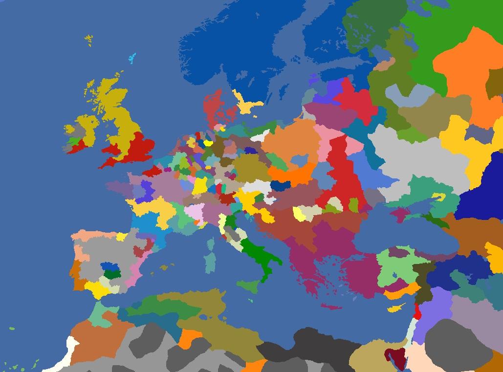 "MP-""Europa Divisa"" 1543"