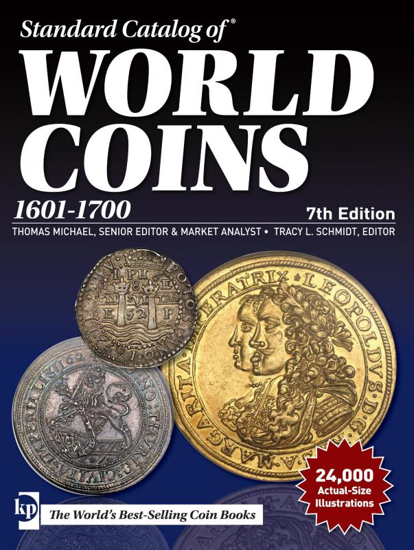 2018 Standard Catalog of World Coins 1601 - 1700 (7th ed) 527264647