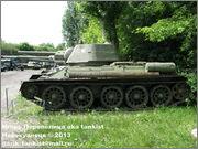 Советский средний танк Т-34, музей Polskiej Techniki Wojskowej - Fort IX Czerniakowski, Warszawa, Polska 34_003