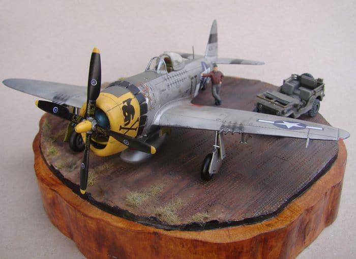 P-47D-30RE Thunderbolt, Revell, 1/72 DSC03170