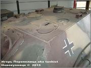"""Немецкая тяжелая САУ  """"JagdPanther""""  Ausf G, SdKfz 173, Deutsches Panzermuseum, Munster Jagdpanther_Munster_037"""
