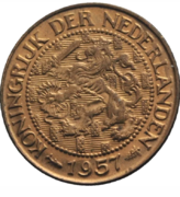 1 céntimo de gulden Holanda 1957 2017_03_05_19_37_46