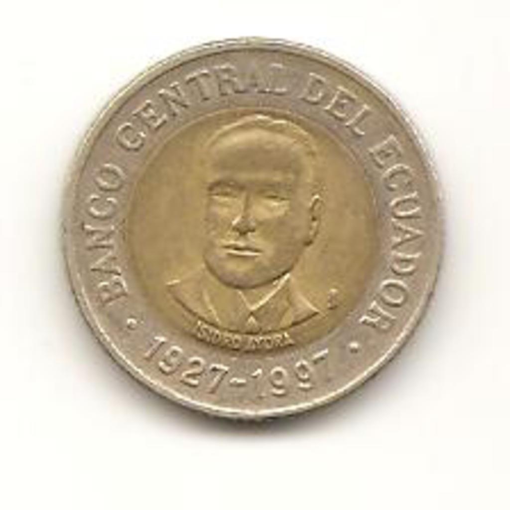 500 sucre de 1997 Ecuador Image