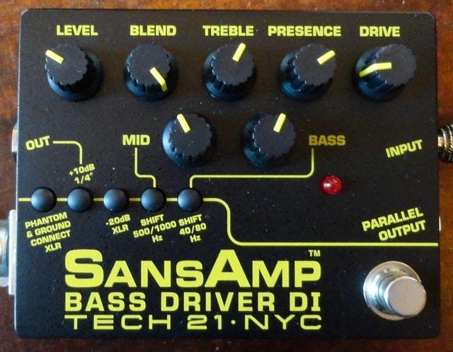 Review: Warmoth Custom '54 P-Bass via Tech 21 SansAmp Bass Driver DI V2 DSC07309
