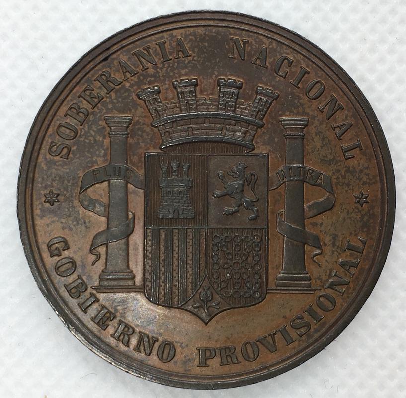 Medalla Soberanía Nacional. Gobierno Provisional 1868.  56986198-4826-47_C3-95_EA-2_B8_EC3_BE89_FB