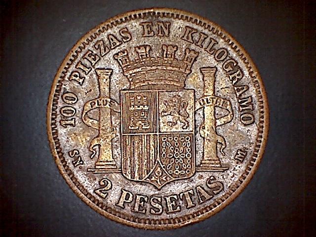 2 pesetas 1870. 131215063458271731417