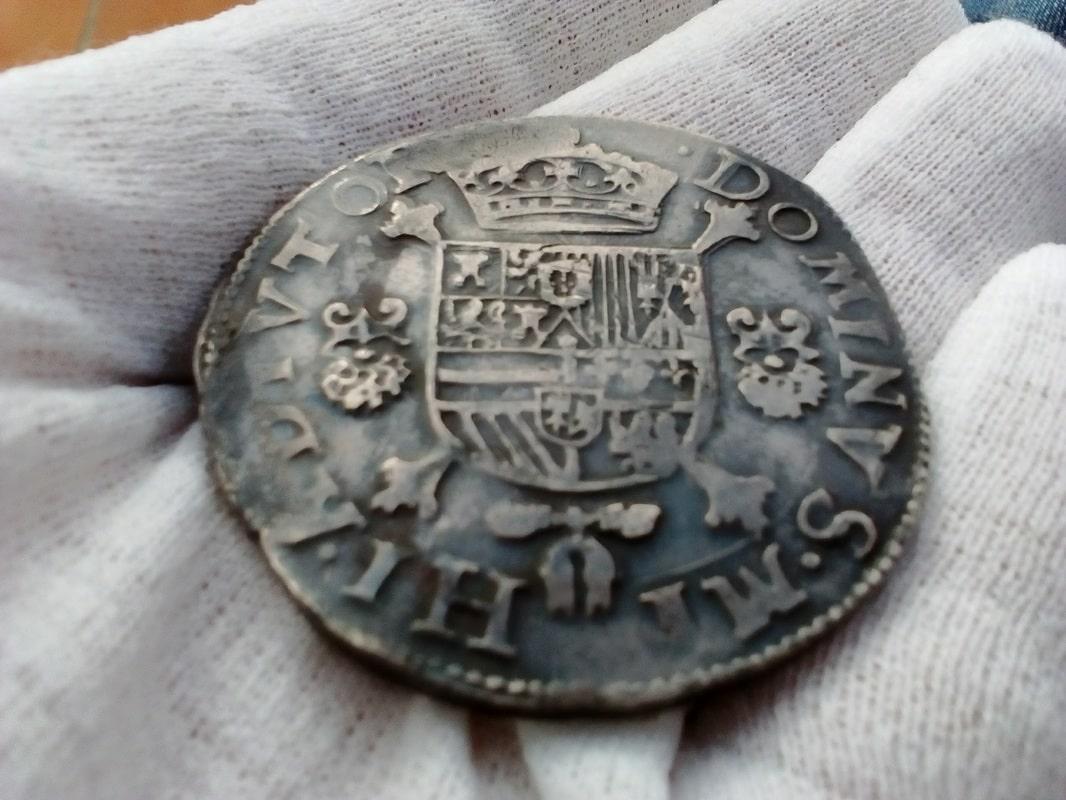 Un escudo felipe 1588 Amberes. Felipe II. IMG_20170207_161534