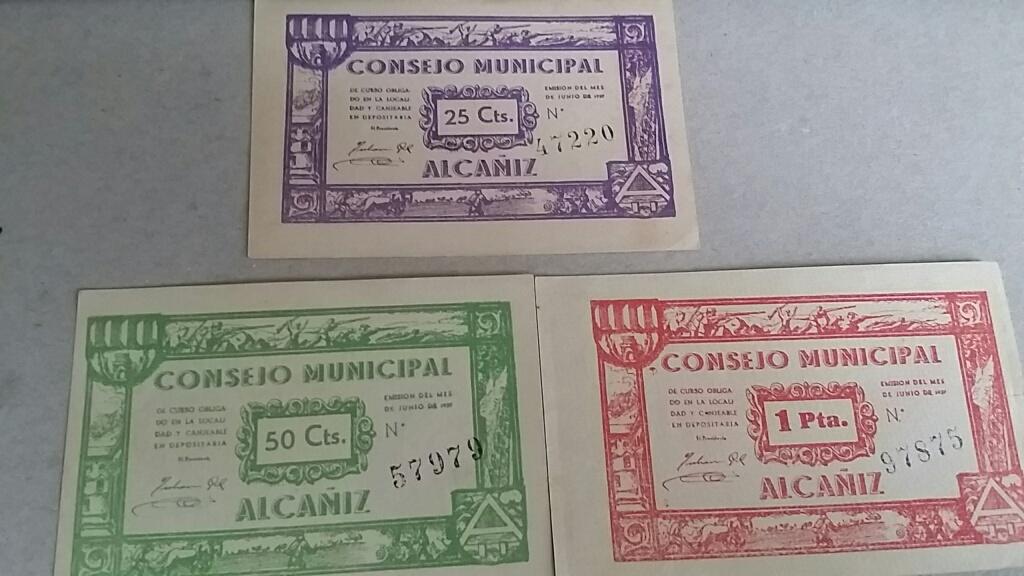 Billetes Consejo Municipal de Alacañiz Local_3
