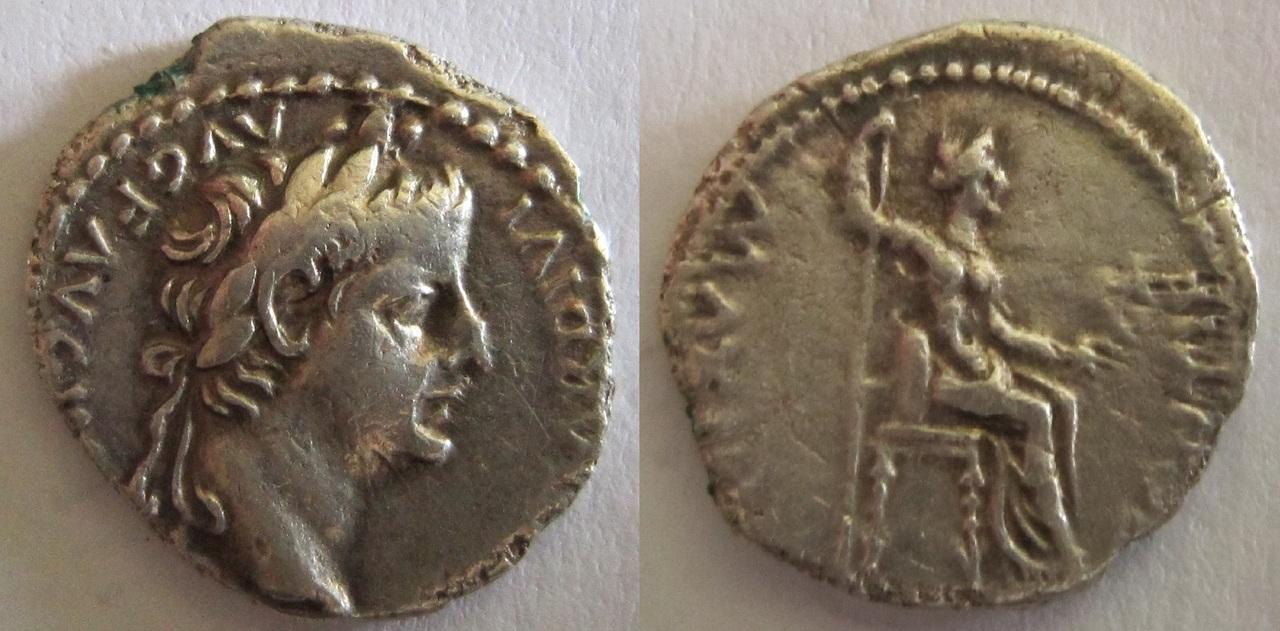 Historias, agradecimientos y el denario del tributo. - Página 2 Denario_Tiberio_PONTIF_MAXIM_2
