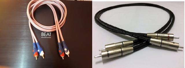 Cables de altavoz que realcen el grave Doscablesdos