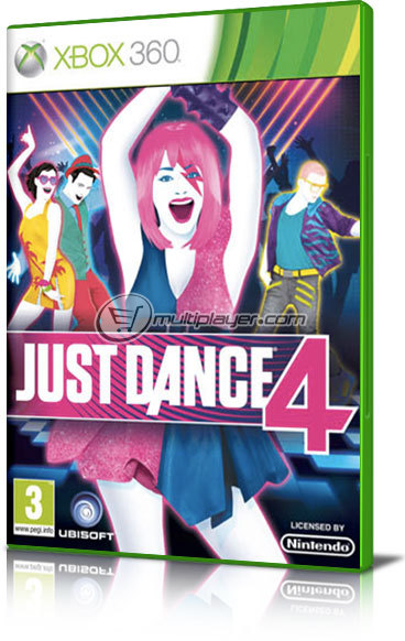XBOX 360 Game Just_dance_4_x360_934523