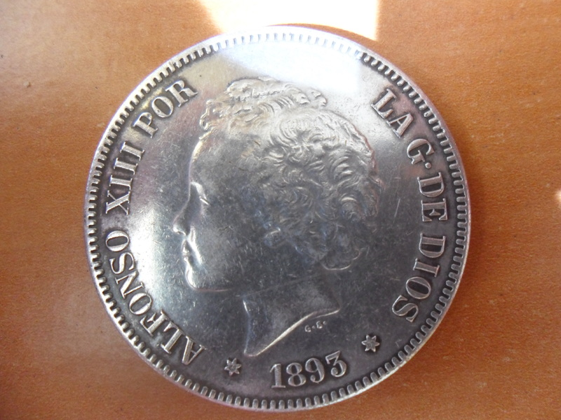 5 pesetas de 1893 003