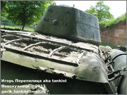Советский средний танк Т-34, музей Polskiej Techniki Wojskowej - Fort IX Czerniakowski, Warszawa, Polska 34_039