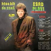 Esad Muharemovic Plavi - Diskografija 1990_Ne_kuni_sto_si_volela_lp_zadnja