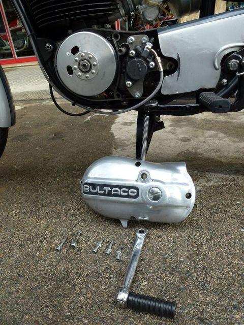 Embrague hidraulico en Bultacos. Unspecified