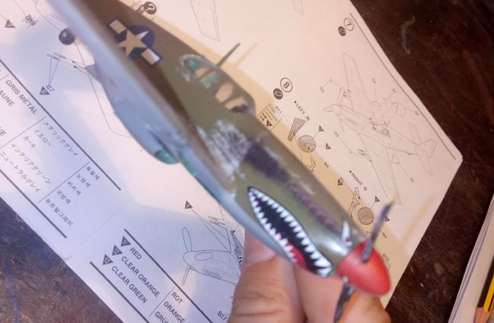 P-51 Mustang, Academy i P-51B Mustang (rebuild) Revell, 1/72 IMG_20160928_145036