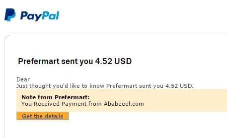 2º Pago de Ababeeel ( $4,52 )   Abausd