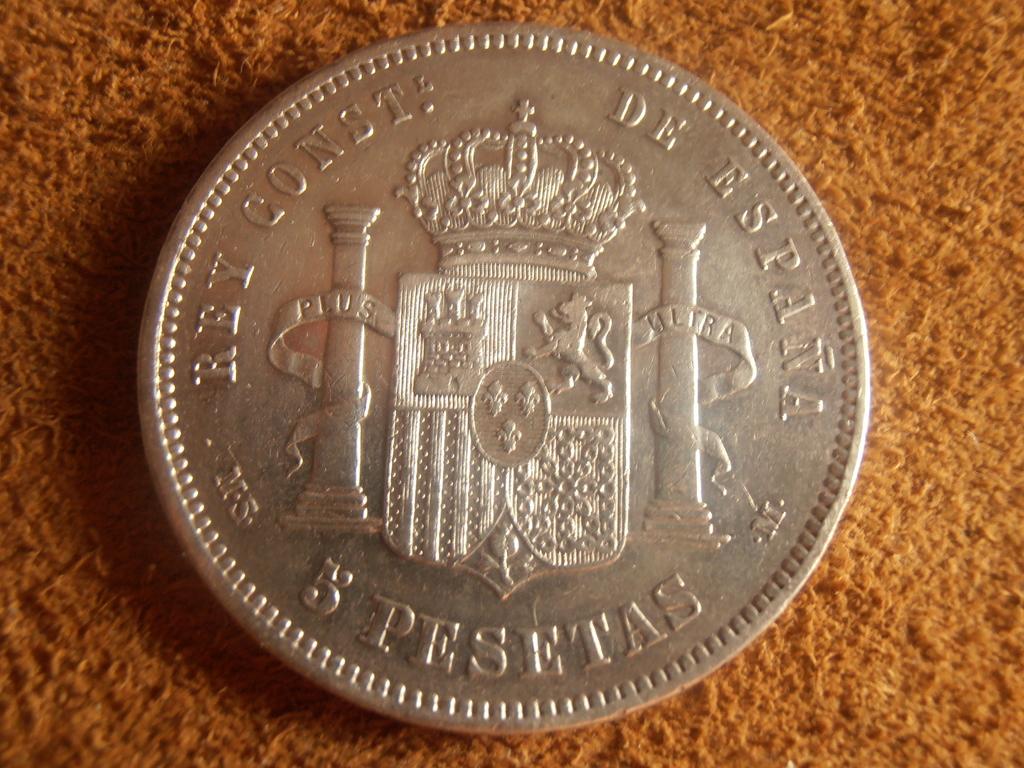 5 Pesetas 1881. Alfonso XII P9080014